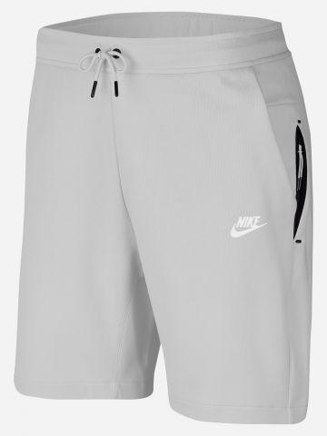 מכנסי טרנינג קצרים לוגו Tech Fleece / גברים