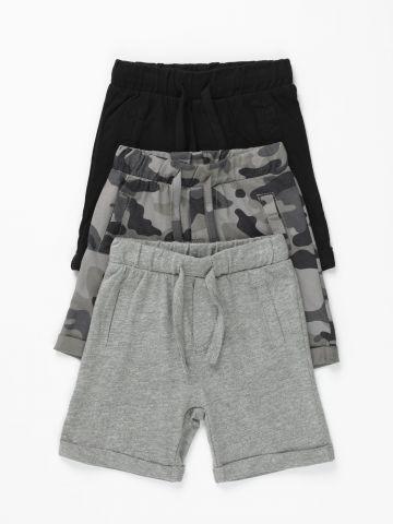מארז 3 מכנסיים קצרים / 3M-3Y