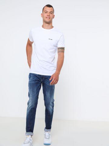 ג'ינס סופר סלים עם הבהרות