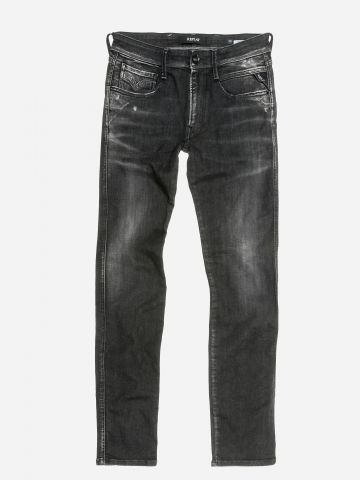 ג'ינס ארוך בשטיפה כהה / גברים