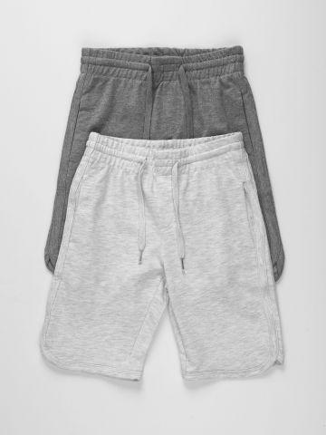 מארז 2 מכנסי טרנינג ברמודה / בנים של FOX