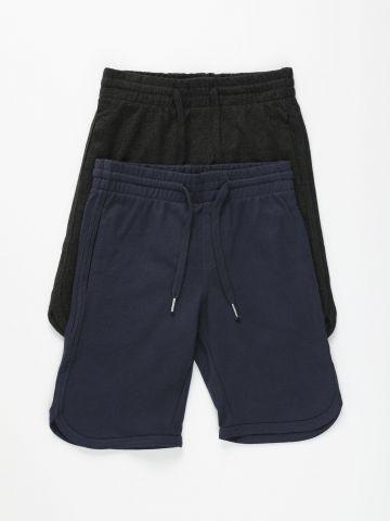 מארז 2 מכנסי טרנינג ברמודה / בנים