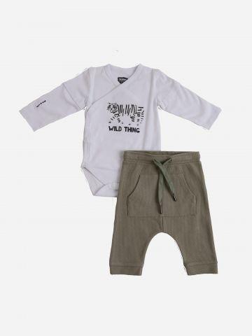 סט בגד גוף ומכנסיים ארוכים / N.B-6Y של MINENE