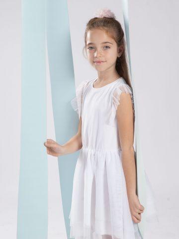 שמלת נצנצים עם טול / בנות של MINENE