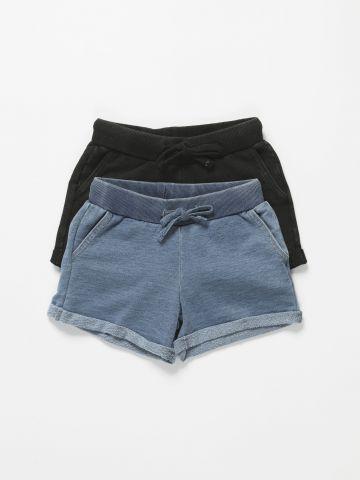 מארז 2 מכנסיים קצרים / בנות