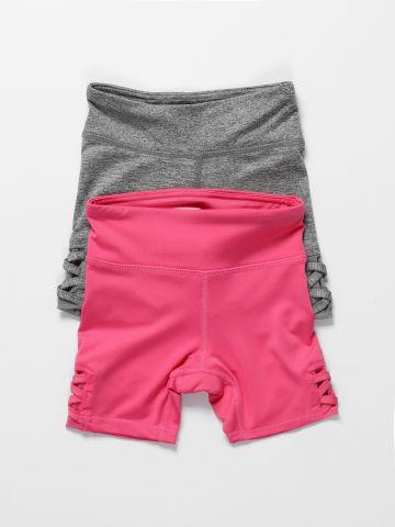 מארז 2 מכנסי טייץ קצרים / בנות