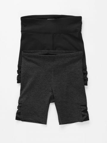 מארז 2 מכנסי טייץ אקטיב / בנות