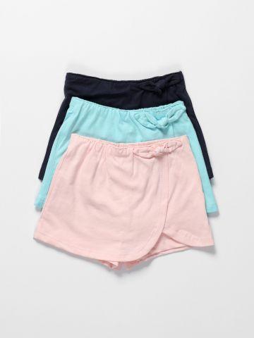מארז 3 מכנסי חצאית / 3M-3Y