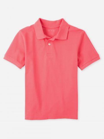 חולצת פולו עם כפתורים / בנים
