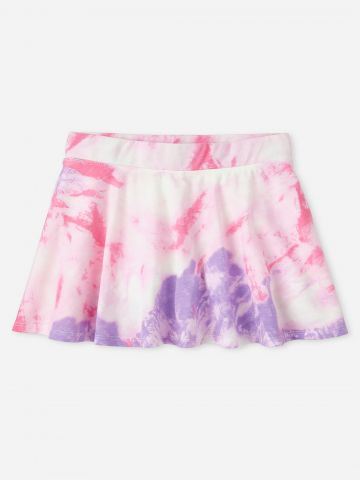 חצאית מיני טאי דאי / בנות של THE CHILDREN'S PLACE