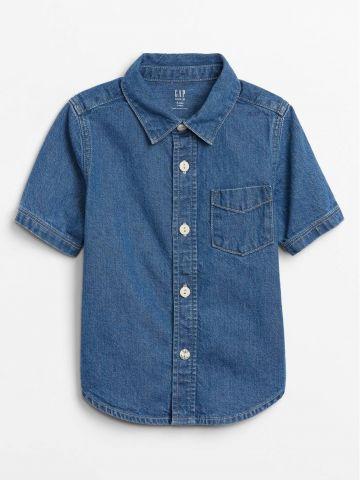 חולצת ג'ינס מכופתרת / 12M-5Y