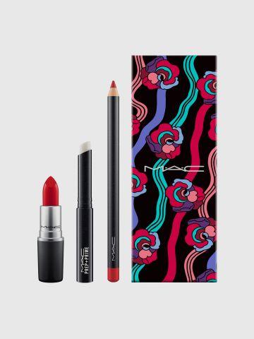 קיט שפתיים יום האם בגוון אדום Spring For Reds Lip Kit