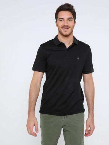 חולצת פולו Slim עם רקמת לוגו