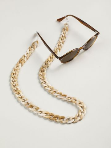 שרשרת למשקפיים חוליות מרבל