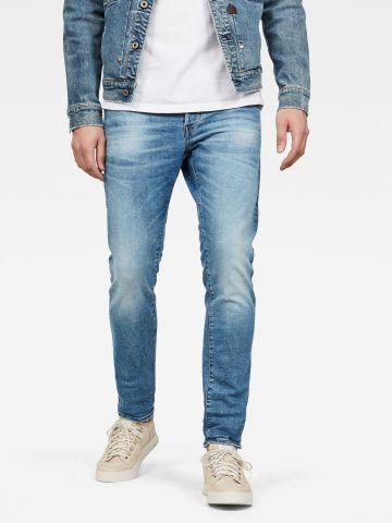 ג'ינס בשטיפה בהירה Slim 3301 של G-STAR