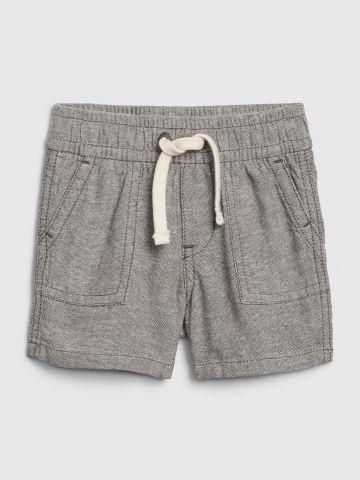 מכנסי פשתן קצרים / 0-24M