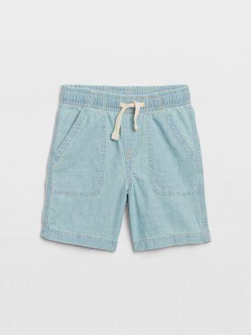 מכנסי ברמודה דמוי ג'ינס / 12M-5Y של GAP
