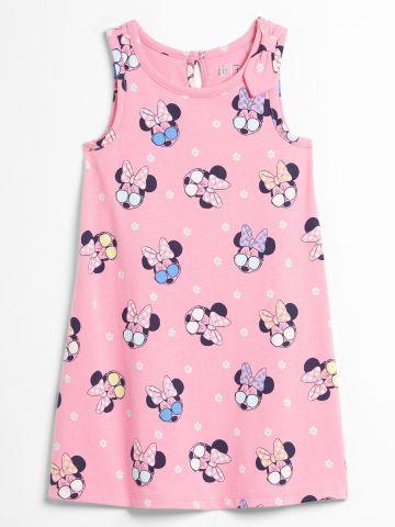 שמלה בהדפס מיני מאוס / 12M-5Y