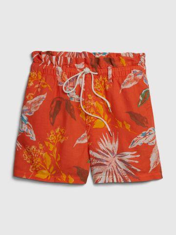 מכנסיים קצרים בהדפס טרופי / נשים של GAP