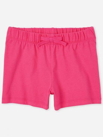 מכנסיים קצרים עם פפיון / בנות של THE CHILDREN'S PLACE