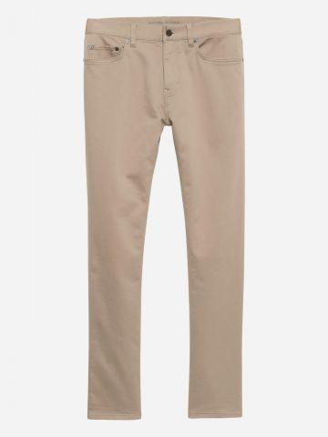 מכנסיים ארוכים בגזרת Slim של BANANA REPUBLIC