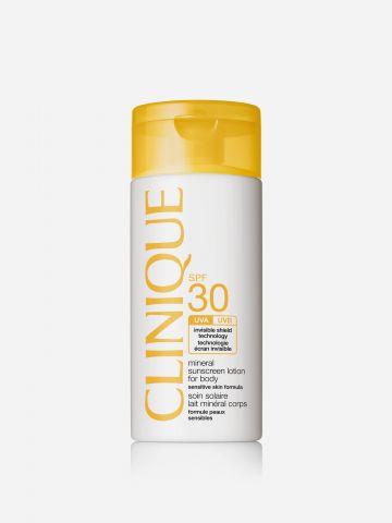 תכשיר הגנה מינרלי SPF 30 Mineral Sunscreen Lotion For Body