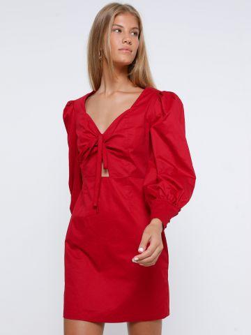שמלת מיני עם שרוולים נפוחים של GLAMOROUS