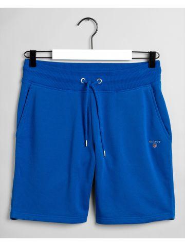 מכנסי טרנינג ברמודה עם לוגו / גברים