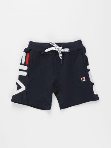 מכנסי טרנינג קצרים עם לוגו / בנים של FILA