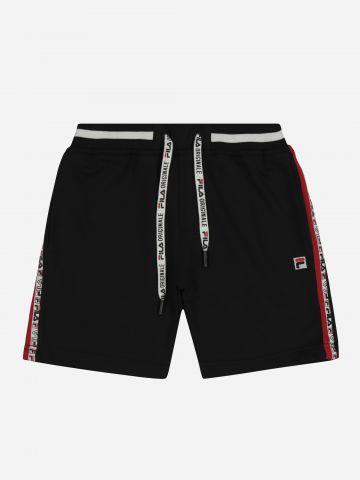 מכנסי טרנינג קצרים עם סטריפים / בנים של FILA