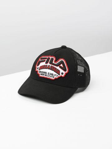 כובע מצחיה כובע מצחייה עם פאץ' לוגו / בנות של FILA