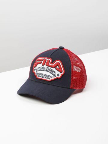 כובע מצחייה עם פאץ' לוגו / בנים
