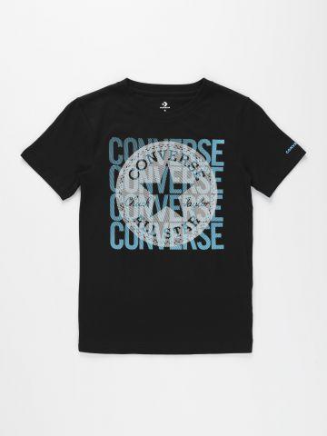 טי שירט עם הדפס לוגו / בנים של CONVERSE