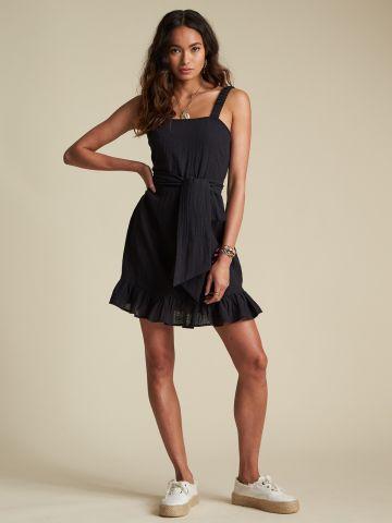 שמלת מיני עם סיומת מלמלה Sincerely Jules Collection