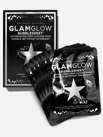 סט 6 יח' מסכות בד עשירות בנוגדי חמצון לניקוי עמוק BUBBLESHEET 6 PACK של GLAMGLOW