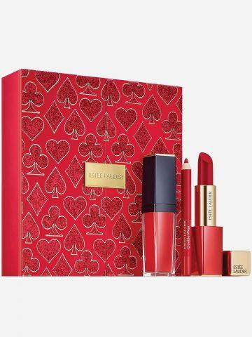 סט שפתיים בגווני אדום Lady Luck Red Lips של ESTEE LAUDER