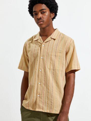 חולצה מכופתרת בדוגמת פסים Without Walls של URBAN OUTFITTERS