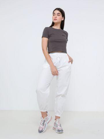 מכנסיים ארוכים עם גומי של TERMINAL X