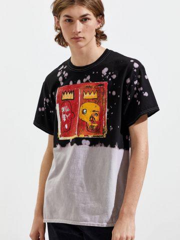 טי שירט טאי דאי Jean-Michel Basquiat