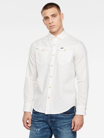 חולצה מכופתרת עם כיסים של G-STAR