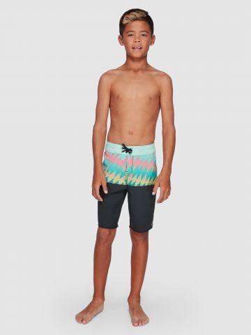 מכנסי בגד ים מולטי קולור