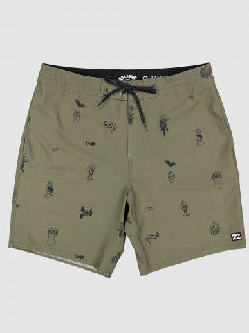 מכנסי בגד ים בהדפס איורים / גברים של BILLABONG