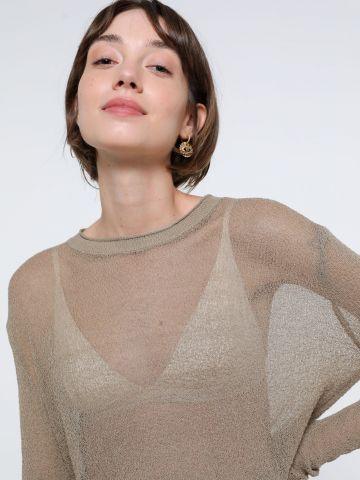 חולצה סרוגה שקפקפה של TERMINAL X