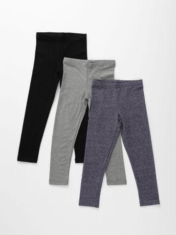 מארז 3 מכנסי טייץ ארוכים / בנות של FOX