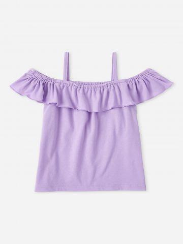 חולצת קולד שולדרס עם מלמלה / בנות