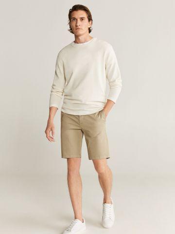 מכנסי ברמודה בסגנון צ'ינו של MANGO