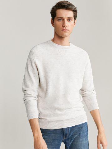 סוודר בייסיק מלאנז' של MANGO