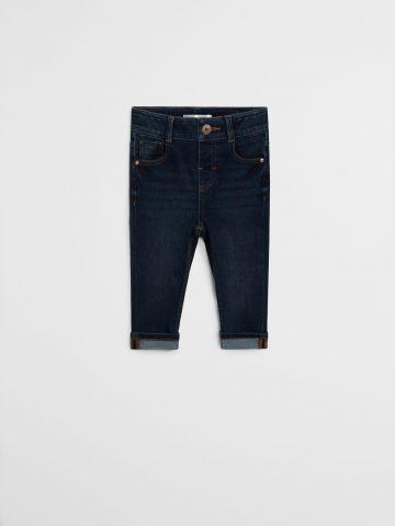 ג'ינס Slim עם קיפול / 9M-4Y של MANGO
