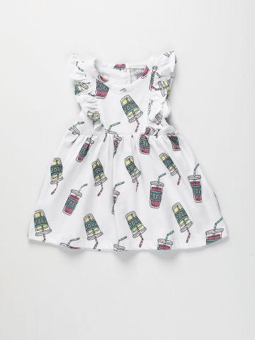 שמלה עם עיטורי מלמלה / 3M-3Y של FOX