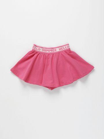 מכנסי חצאית עם גומי / 3M-3Y של FOX